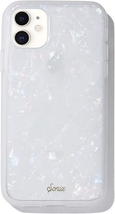 Sonix Pearl Tort Case for iPhone 11 [Military Drop Test Certified] Protective Translucent Iridescent White Marble Case for Apple iPhone XR, iPhone 11 Cute Cases, Cute Phone Cases, Iphone Phone Cases, Iphone Case Covers, Iphone 11, Phone Cover, Apple Iphone, Tort Cases, Tumblr Phone Case