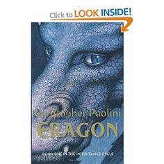 The 1st book out of 4 in the 'Inheritance Cycle' by Christopher Paolini. Has been described as a cross between Star Wars and The Lord of The Rings. An enthralling read that I couldn't put down.