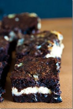Oreo Cream Brownies