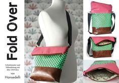 Ebook FoldOver Tasche, für Anfänger geeignet von Hansedelli auf DaWanda.com