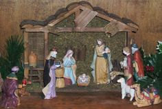 manger figures from japan | 1960's Nativity | Remember when....