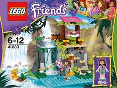 """Lego Friends Set """"Jungle Falls Rescue"""" w/ Box & Manual - Complete Lego Friends Party, Lego Friends Sets, Girl Toys Age 5, Toys For Girls, Discount Toys, Adventure Campers, Lego System, Lego For Kids, Buy Lego"""