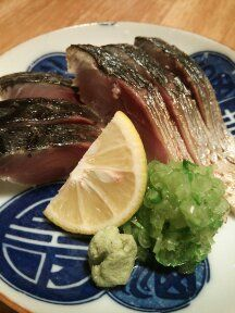 mackerel that is first salted and vinegared and then roaste @zabun takasaki,Japan