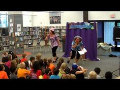 "READiculous performs ""Listen to My Trumpet!"" by Mo Willems! READiculous loves performing Mo Willem's Elephant & Piggie books and this is just one video from their YouTube page sharing this amazing seriers of beginning readers!"