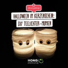 Bist du ein Halloween-Fan? Wenn ja, dann werden dich unsere DIY Ideen bestimmt inspirieren. Denn bald wird es gruselig. 👻  #hongi #faultiermatratze #hongiblog Halloween, Tricks, Blog, British Isles, Sloth, Creepy, Simple Diy, Candles, Spooky Halloween