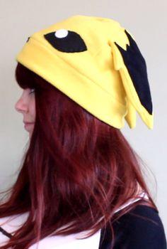 Jolteon hat by BaldieMcNoNose on Etsy