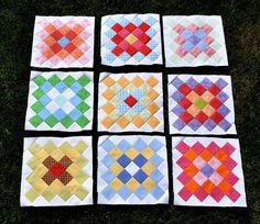 9 Great Granny Blocks by Pleasant Home, via Flickr