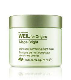 Dr. Andrew Weil for Origins™ Mega-Bright Dark spot correcting night mask