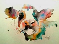 Rainbow cow,giclee print by sarah weyman art watercolor projects, watercolo Watercolor Art Lessons, Watercolor Art Diy, Watercolor Art Paintings, Watercolor Projects, Watercolor Animals, Animal Paintings, Watercolor Techniques, Watercolours, Cow Art