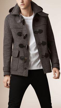 US Seller Men/'s Stylish Navy Blue Casual Coat Slimfit Hoodie Jacket Outwear PK88