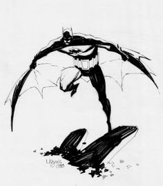 Image detail for -Mike Mignola BATMAN, in TIM TOWNSEND's mike mignola Comic Art Gallery ...