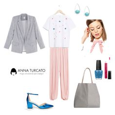 """""""Everyday look"""" by annaturcato ❤ liked on Polyvore featuring ASOS and OPI"""