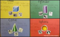 Solid Shapes Explored in Kindergarten, Make Math Meaningful
