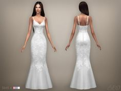 WEDDING DRESS 07 at BEO Creations • Sims 4 Updates