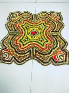 Acrylic Rangoli, Rangoli Designs, Diwali, Crafting, Decorating, Blanket, Pillows, Crochet, Ideas