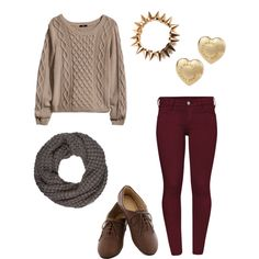 Cute fall outfit, perhaps with different shoes