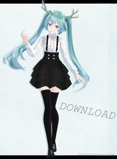Tda Miku Spirit DL by Mandarincate on DeviantArt