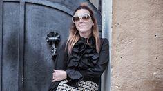 vestido sixty almatrichi - gafas de sol Chloé  www.normcoregirl.com @normcoregirl