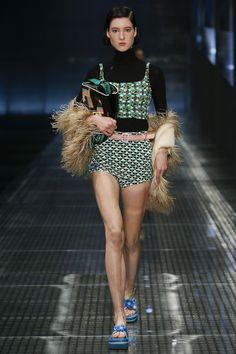 Prada Spring 2017 Ready-to-Wear Fashion Show - Maren Behringer