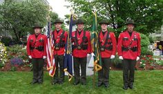 NHFG Conservation Officer Honor Guard