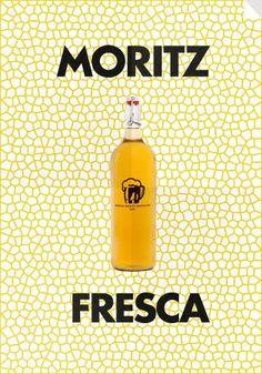 Moritz biere made in Barcelona Ipa, Beer, Identity, Barcelona, Food, Packaging, Yellow, Fresco, Root Beer
