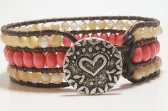 Wrap Bracelet. $37.00, via Etsy.