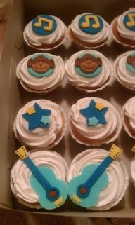 rockstar monkey cupcakes - Google Search