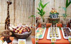 Tema Festa: Safari - Dicas pra Mamãe