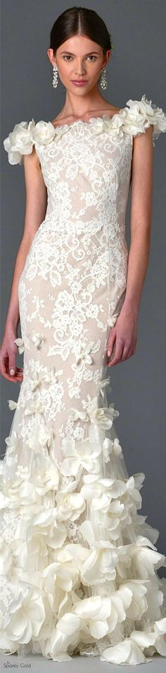 Marchesa Spring 2017 Bridal