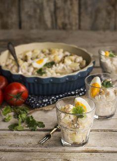 Potato  and Clams Salad
