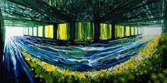 Extraordinary Brush-Less Paintings - My Modern Met