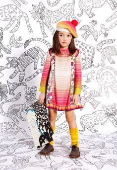 Le crochet pop Missoni.