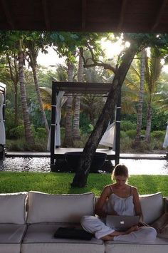Peace, serenity, and a laptop. Perfect! This is Casa Colonial Beach & Spa in Puerto Plata, Dominican Republic