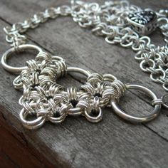 Love Japanese weaves! #chainmaille