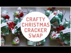 Crafty Christmas Cracker Swap Now Open! Real Estate Signs, You've Got Mail, Shipping Pallets, Christmas Crackers, Event Page, Mixed Media Artwork, Junk Journal, Vintage Christmas, Christmas Bulbs