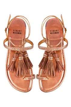 Stuart Weitzman sandals - Where to Go and What to Wear in 2012 - Discover More Fashion Trends on ELLE.com