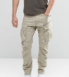 G-star Tall Rovic Zip Cargo Pants Tapered - Beige Tactical Wear, Tactical Pants, Tactical Clothing, Cargo Pants Outfit Men, Cargo Pants Men, Asos Online Shopping, Online Shopping Clothes, Pantalon Cargo, Slim Jeans