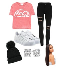 """by lauren"" by jstlauren ❤ liked on Polyvore featuring adidas Originals, MANGO and Forever 21"