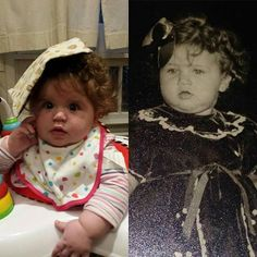 We've got strong genes! Left: my daughter. Right: my mom. #Twinning https://www.instagram.com/p/_S-afqoatz/