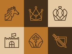 Chess Icon Set by Kyle Anthony Miller