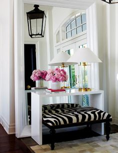 The perfect entry way