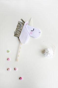 Make Origami  Unicorn Cards   Unicorn Puppets   willowday