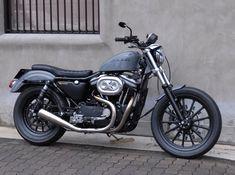 Tramp Custom Gallery   Harley Davidson   03 Sportster   03 XLH883R