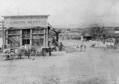A.H. Hilton Mercantile Company, San Antonio, New Mexico, USA, 1909