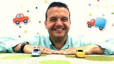 Vídeo para niños. Josep y los Coches: Taxi y Policía. Vídeo educativo - ...