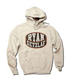Ryan Getzlaf NHLPA Officially Licensed Anaheim Hoodie S-3XL Ryan Getzlaf Puck K