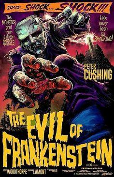 Evil of Frankenstein #fanart