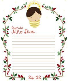 carta al niño Dios
