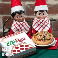 Elf Pizza! | Elf on the Shelf Ideas