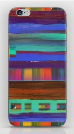 Santa Fe Sunset phone case from Society6 for iPhone or Galaxy with art from Melasdesign.